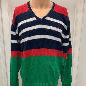 Polo Ralph Lauren Stripe Color Block vintage large